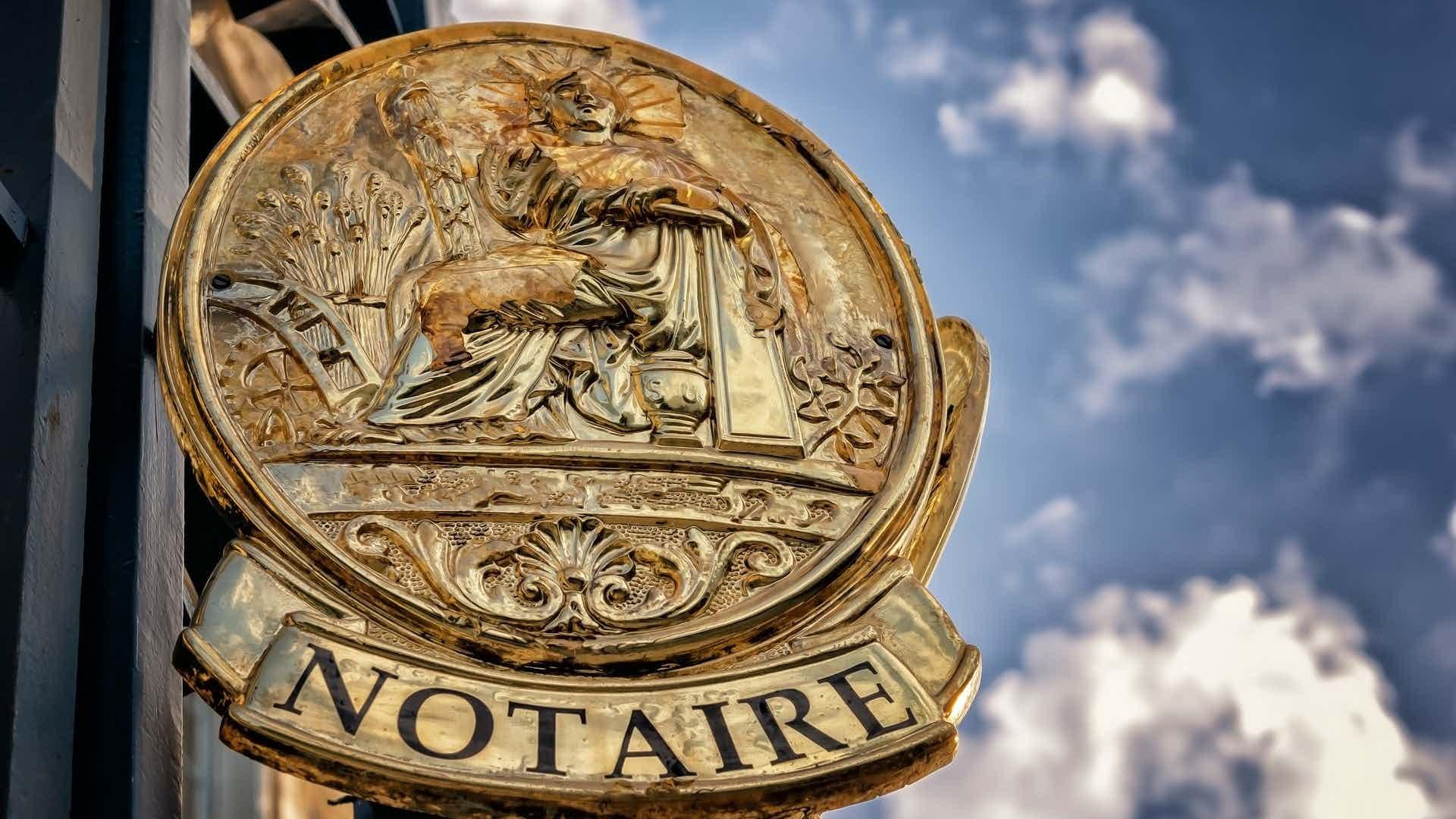 notaris inschakelen