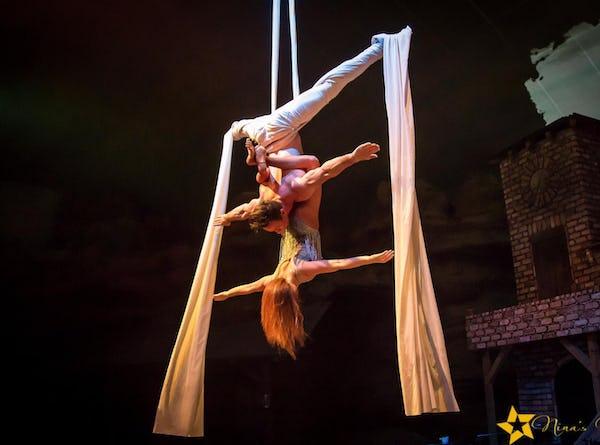 Akrobatik Duo buchen Event