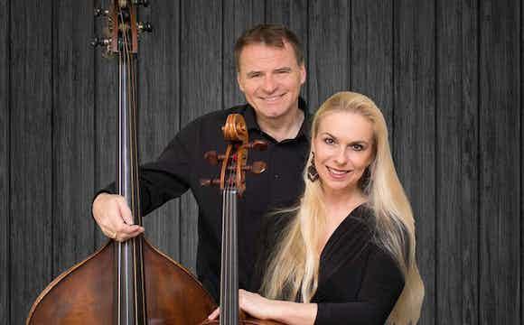 Katharina und Martin mit Instrumene quadr