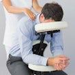 massage voor bruiloft beursstand bedrijfsfeest