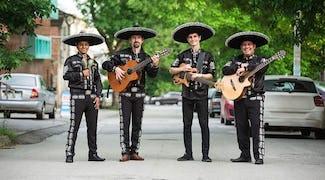 latin band boeken feest