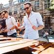 Live act percussie:sax:marimba
