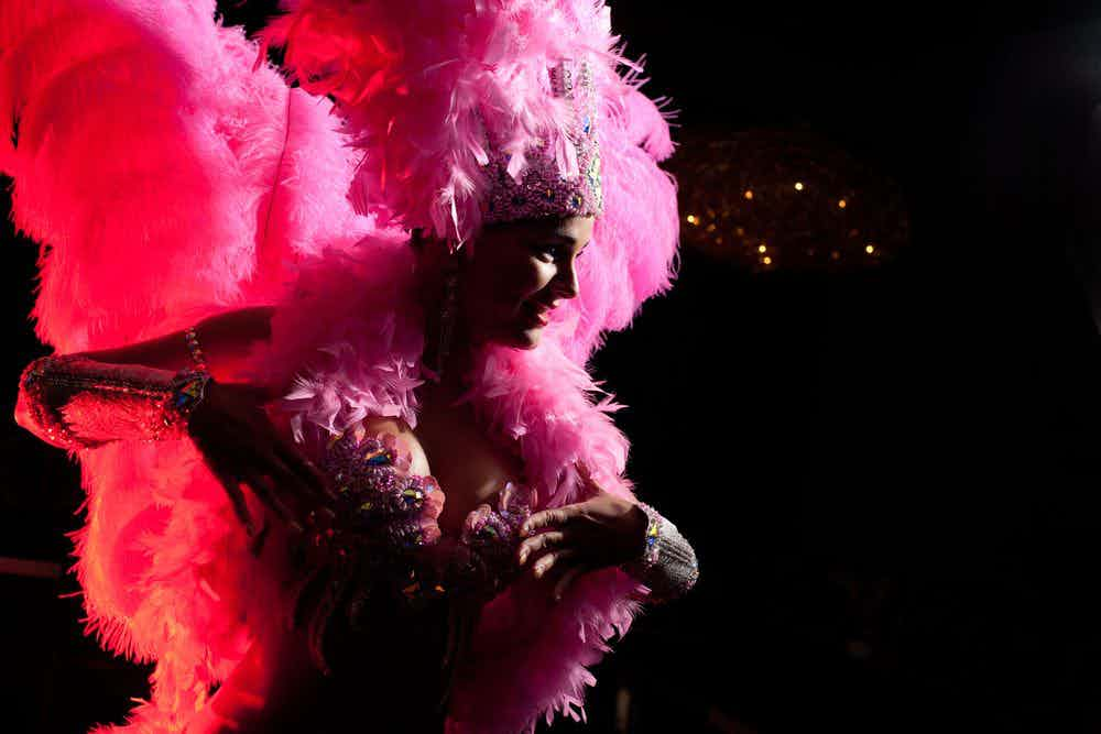 Cabaret-dame