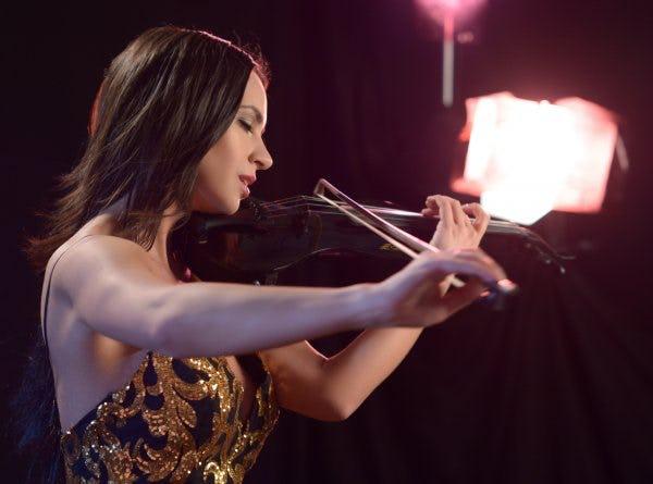 Violinistin buchen