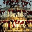 Champagnetoren evenement huwelijk