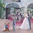 Live Painting huren bruiloft