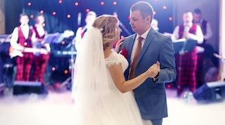 bruiloft dans