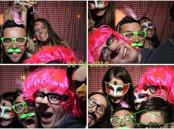 fotohokje voor huwelijk bedrijfsfeest