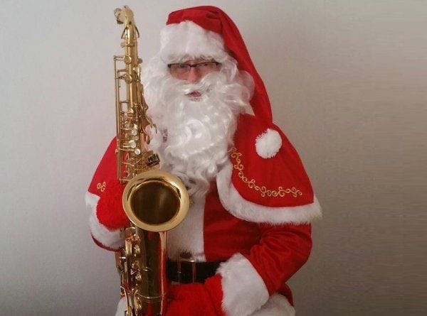 muzikale kerstman boeken kerstdiner