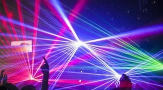 lasershow licht geluid
