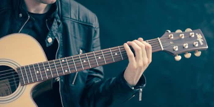 Gitarrist Wohnzimmerkonzert
