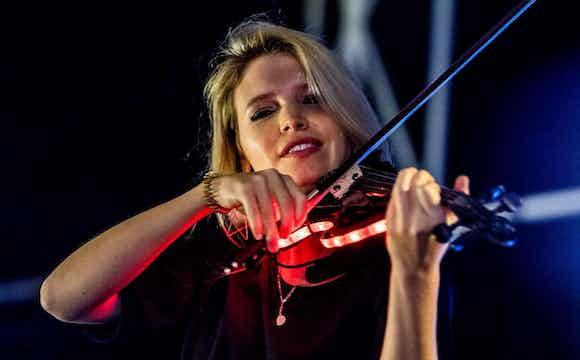 LED Geige, Firmenevent