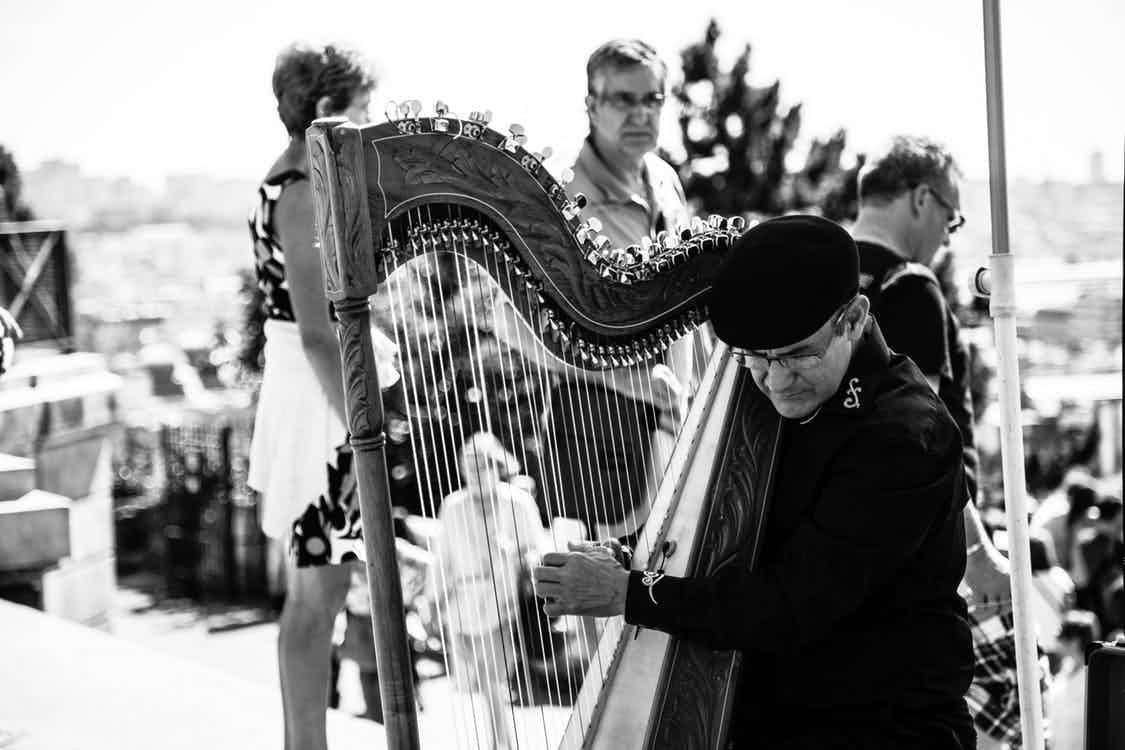 harp huren