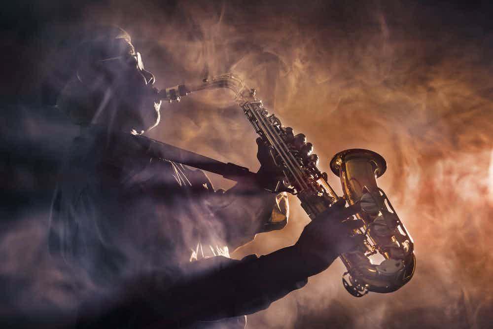 saxofonist-rook