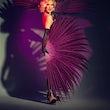 Burlesque danseres boeken feestje