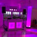 DJ booth bruiloft