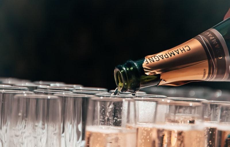 champagne act huren feest