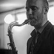 saxofonist jazzband
