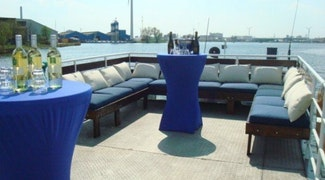 boot buitendek lounge