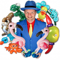 Ballon Artiest boeken kinderfeest