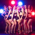 burlesquepigerblårød