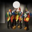 dixieland orkest clownthema huren