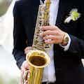 saxofonist boeken bruiloft