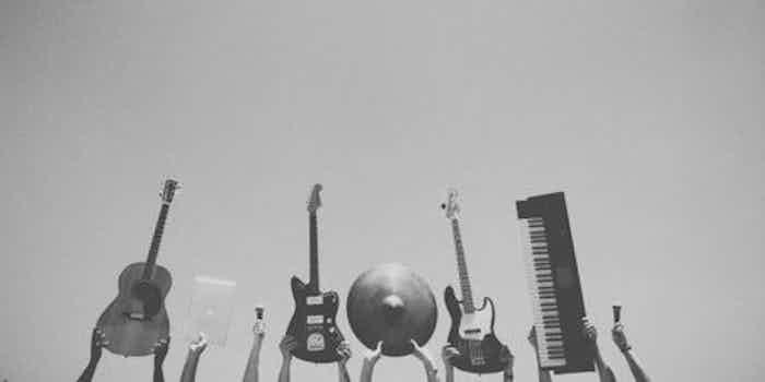 band instrumenten kopie