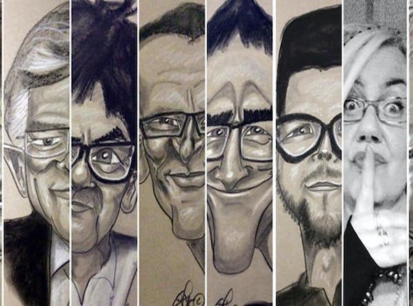 evenses karikaturtegner