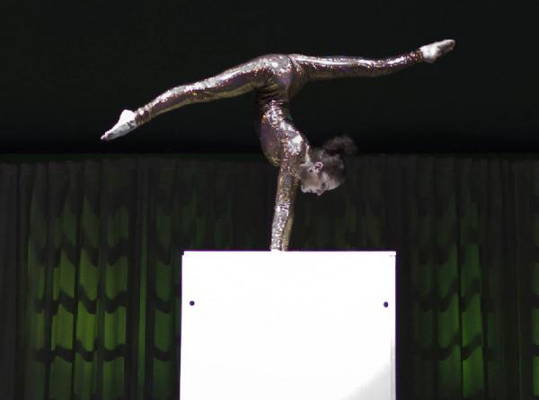 kerstshow acrobatiek