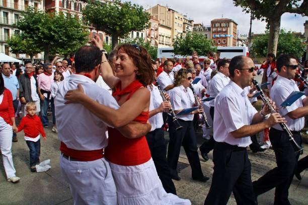 baile en  los San Fermines