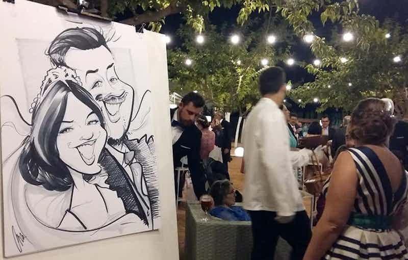 caricaturas boda destacada copia x