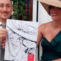 caricaturas bodas tradicional