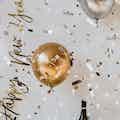 Decoratie nieuwjaarsborrel