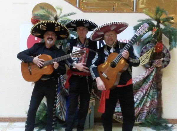 Mariachi Band inhuren personeelsfeest