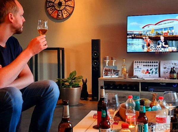Online bierproeverij organiseren