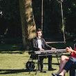 Pianist zanger boeken buitenfeest