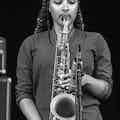 Saxofonist live