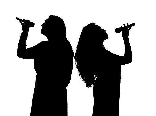 Trio met zang en DJ huren