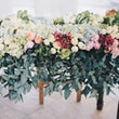 Tuinfeest bruiloft aankleding