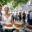 Aansnijden bruidstaart Huize Koningsbosch