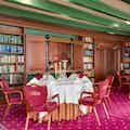 Bibliotheek diner rond
