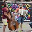 Jazz duo boeken bedrijfsfeest