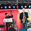 Jazzband boeken bedrijfsfeest receptie