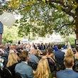 Trouwceremonie Kastanjeterras Huize Koningsbosch