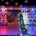 Unieke Robotshow Boeken Diner