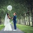 fotograaf huren bruiloft foto's ballon