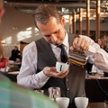 mobiele koffiebar huren receptie