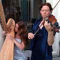 violiste en harpiste huren