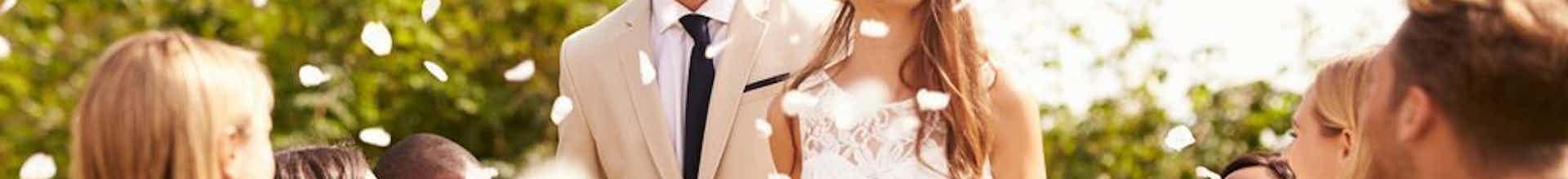 bruiloft muziek tijdens ceremonie